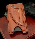 Nice phone/knife/pen cases for sale. Comes with damascus knife