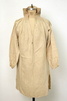 Object Name  Shirt  Date  1800–1943