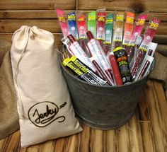Jerky.com Extra Mile Meat Stick Gift Bag (20 Meat Sticks) - http://www.yourgourmetgifts.com/jerky-com-extra-mile-meat-stick-gift-bag-20-meat-sticks/
