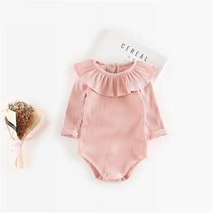 a5f889605d96f Long Sleeves Jersey Bodysuit (6 colors)