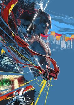 Batman v Superman Dawn of Justice by Chris Malbon