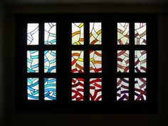 Stained Glass Window by NUZ #art # Artist at Betsy Frank Gallery #artnuz