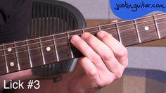 Guitar Lesson: 5 classic blues licks using The Blue Note - Essential Blues Lead Guitar Lesson #11 More Info & TAB: http://www.justinguitar.com/en/BL-411-Five...