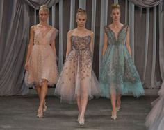 A ballet-inspired collection from my favorite Project Runway designer!  Christian Siriano Spring 2013 via ELLE