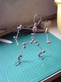 Stop Motion Poor Man's Armature