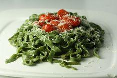 Macheesmo: Spinach Pasta