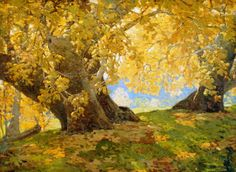 Sycamore in Autumn by Edgar Payne