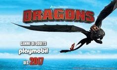 ToyzMag.com » Playmobil s'offre la licence DRAGONS !