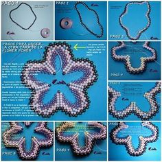 "Pendant ""Flower"" from the bead"