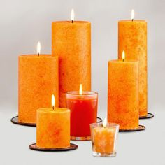 One of my favorite discoveries at WorldMarket.com: Mexican Pumpkin Candles