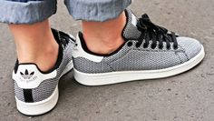 Street Style : Stan Smith Weave + Lacoste