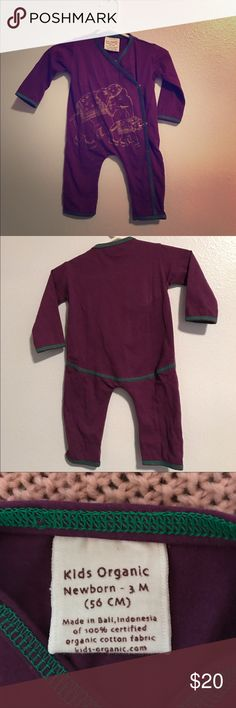 Organic baby one piece outfit New WOT, so adorable and comfy organic baby One Pieces Bodysuits