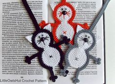 Kitty Cat Crochet Bookmark Pattern