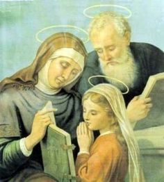 Santa Ana y San Joaquin Padres de Maria http://rbn.cm/A4QAFa #StAnneprayforus #StJoachim #MotherMary