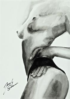 And How to Start the Day?... Chinese ink on paper