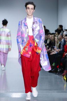 Sankuanz by GQ China Menswear Fall Winter 2015 London - NOWFASHION