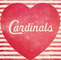 Love Cardinals baseball