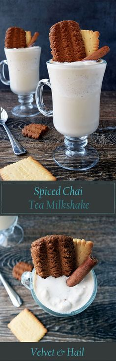 Spiced Chai Tea Milkshake