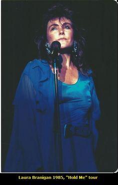 """Laura Branigan 1985, """"Hold Me"""" tour"""