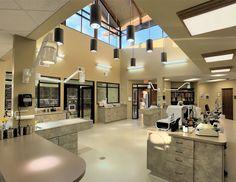 Light from above | Hospital Design. (I'm presuming an Animal Hospital)