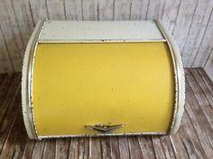 Alter Brotkasten aus Blech  Tala - Made In England Original 50er  | eBay