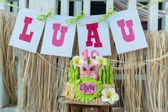 Luau Beach Party
