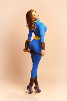 Fallout Cosplay, Pin-Up Style Cosplay Outfits, Cosplay Girls, Cosplay Costumes, Fallout Cosplay, Poses, Cultura Pop, Pin Up Style, Best Cosplay, Up Girl