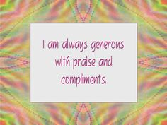 COMPASSION affirmation