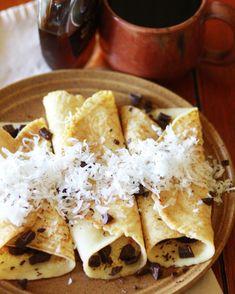 Coconut Cream Crepes