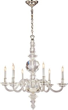 Circa Lighting LARGE FACETED GEORGE II CHANDELIER