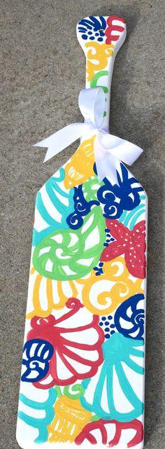 Chiquita Bonita Underwater Lilly Inspired Hand by KraftsbyKristie