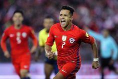 Alexis Sanchez scored a last-minute winner for Chile against Ecuador last night