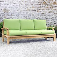 An Outdoor Sofa Turns A Patio Into A Parlor. Modern Sofas