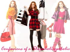 """Rebecca Bloomwood """"Confessions of a shopaholic"""""""