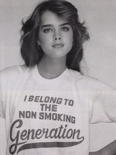 I belong to the non smoking generation.  tshirt Rostros 75ea13acd6f