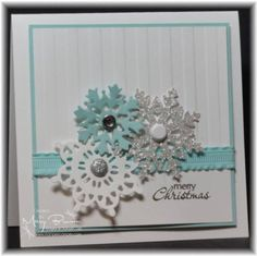 WT349 Snowflakes by stampercamper - Cards and Paper Crafts at Splitcoaststampers
