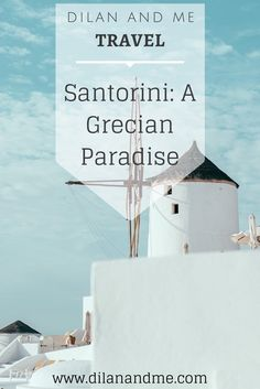 Santorini: A Grecian Paradise - www.dilanandme.com - Details of our stay in Kamari, Santorini at Cavo Bianco. Including places to eat and how to get around Santorini, a beautiful Greek island and perfect honeymoon or wedding destination