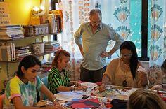 Workshop de COLAGEM com Mauricio Planel   abril 2016   Stampa Studio