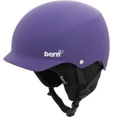 Bern Muse Womens Helmet - Matte Purple - many knit liner options to mix it up