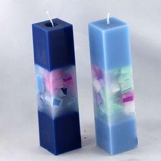 Kerzen Quaderkerzen Würfelfenster manuell gefertigt - Nordkerze Cute Candles, Beautiful Candles, Soy Wax Candles, Diy Candles, Scented Candles, Candle Art, Candle Lanterns, Diy Aromatherapy Candles, Square Candles