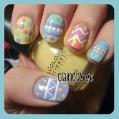 easter by  elaineqxoxo #nail #nails #nailart
