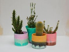 Resin pots | Friends with Jenny
