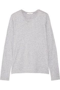 Adam Lippes - Pima Cotton-jersey Top - Gray - x small