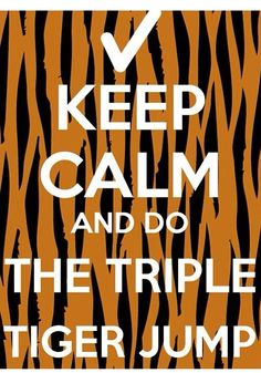 It's actually the triple tiger SASHAY but whatever. And yes. Check yes.