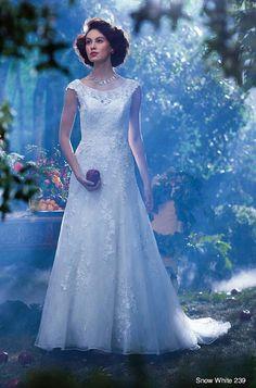 Vestido de noiva inspirado na Branca de Neve