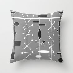 Retropolis 6 Throw Pillow by SKCreations, LLC - $20.00