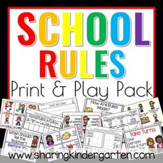 This Pack Includes: What are Rules? -Teacher chart filled in -Teacher chart to fill in as you teach -Pocket Chart Header and 21 sorting cards -Writing Prompt -Our Class Rules Header and blank cording cards -Good Rules to Follow Printable (three versions) and answer key How Are Rules Made? -Teacher...