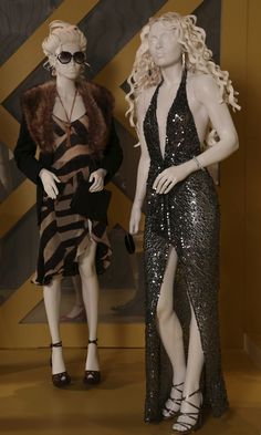American Hustle, costume design by Michael Wilkinson. FIDM's 22nd Annual Art of Motion Picture Costume Design exhibit - Tyranny Of Style