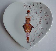 peinture porcelaine femme - Recherche Google