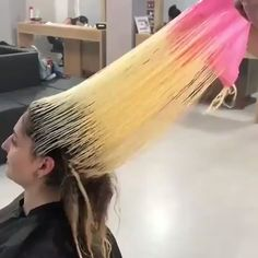 Hairstyle By: @ contact me pls Trend Trendy Hair Hairstyles Makeup Beauty Blond Ombre, Ombre Hair, Silver Hair Dye, Hair Color Formulas, Hair Color Techniques, Hair Transformation, Hair Videos, Hair Highlights, Pretty Hairstyles